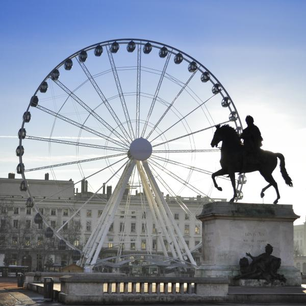 Destination Lyon : Place Bellecour