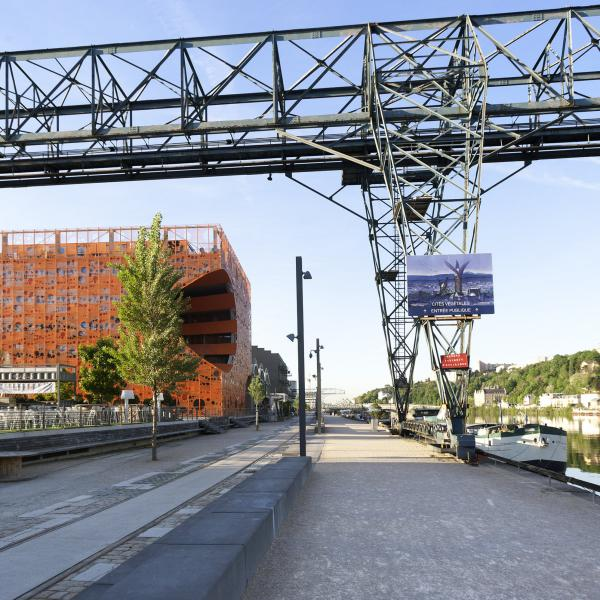Destination Lyon : Quartier Confluence